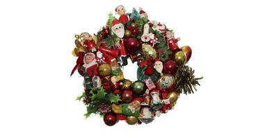 Mini Christmas 1969, wreath by magpie